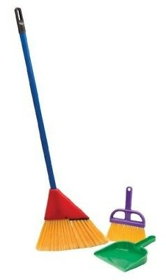 Little Helper Broom Set by Schylling. Delivery is Free