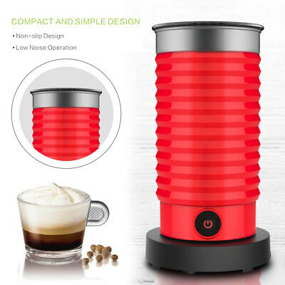 HOT Automatic Milk frother heater twin whisk mini water kettle 72 degrees hot AU