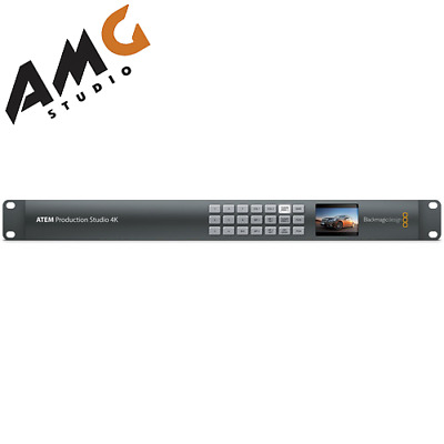 Blackmagic Design ATEM Production Studio 4K Live Switcher SWATEMPSW04K