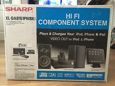 Sharp XL-DAB151PH(BK) Hi Fi System  welcome to Andy offers