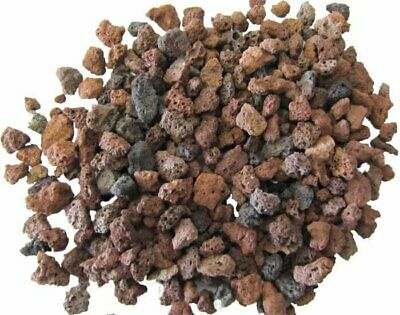 10 KG Volcanic Lava Rock Substrate  Gravel,  Aquascaping, Planted Aquarium 3-5mm