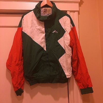 Red White and Green Jacket with Andes Candies logo NWT - XL Free Shipping  655