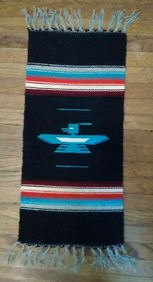 Vintage Indian wool ? Tourist blanket/tapestry 2