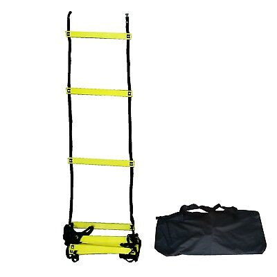 Speed Agility Training Sports Equipment Ladder 9.1m by Bluedot Trading