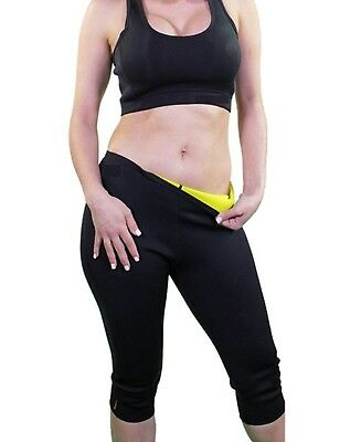 ((Fit Natural Waist 60cm  - 70cm ) Small, Black) - Womens Slimming Pants Hot