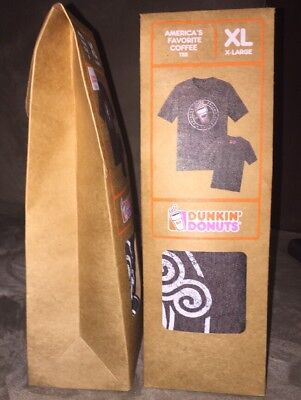 Dunkin Donuts America's Favorite Coffee Tee 2015 XL Collectible T-Shirt Rare