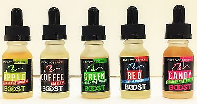 Buy One Get one Free Energy Boost E Flavor Liquid juice Hookah Vapor flavor