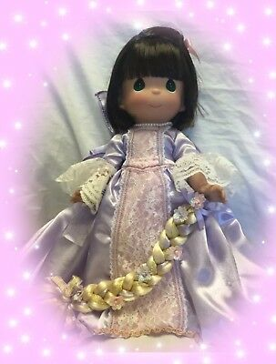 "Disney Tangled Doll Brunette Rapunzel - Precious Moments 12"" Vinyl Doll"
