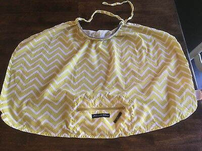 Petunia Pickle Bottom Nursing Cover PPB Yellow with storage case pouch shield