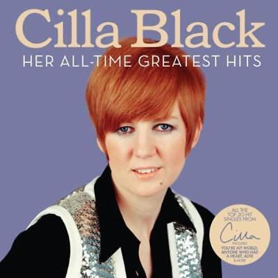 CILLA BLACK HER ALL-TIME GREATEST HITS CD (VERY BEST OF) (October 27th 2017)