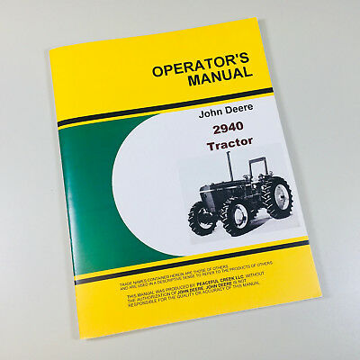 Operator manual set for john deere 1050 tractor owner parts.