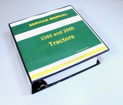 Service manual for john deere 2350 2550 tractor repair technical service manual for john deere 2350 2550 tractor repair technical shop book fandeluxe Image collections