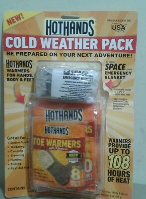 New Hothands Heatmax Cold Weather Pack