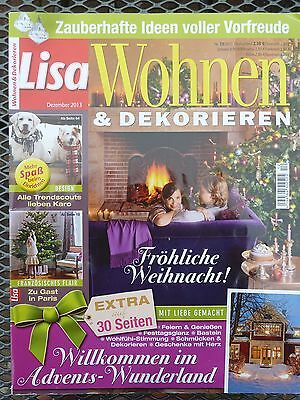 zeitschrift lisa wohnen und dekorieren nr 3 2016 m rz. Black Bedroom Furniture Sets. Home Design Ideas
