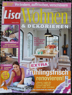 lisa wohnen und dekorieren november 2017 eur 1 00. Black Bedroom Furniture Sets. Home Design Ideas