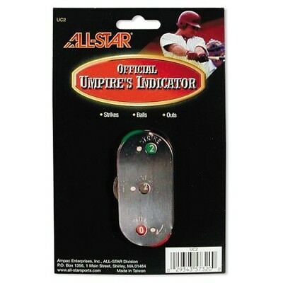 Metal Umpire Indicator. All-Star. Free Delivery