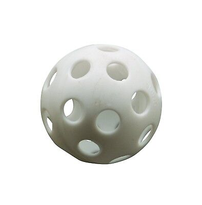 Athletic Specialties Perforated Golf Ball Bag of 12 White. Free Shipping