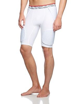 (X-Large, White - white) - McDavid Hex Wrap Basketball Shorts. Shipping is Free