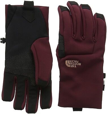 (Small, Red/black/deep Garnet Red) - The North Face Women's Apex Etip Gloves
