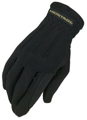 (0.75, Black) - Heritage Power Grip Glove. Heritage Products. Free Shipping