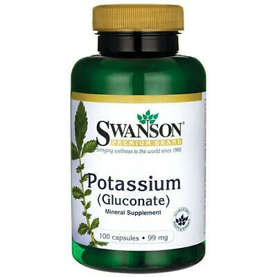 Swanson Potassium Gluconate 99 mg 100 Caps