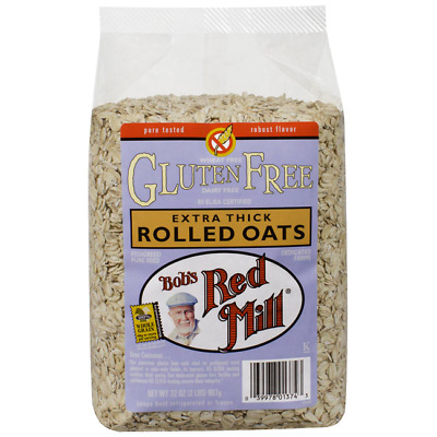 Bob's Red Mill Gluten Free Extra Thick Rolled Oats 32 oz (907 g) Pkg