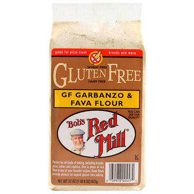 Bob's Red Mill Gluten Free Garbanzo and Fava Flour 22 oz (623 g) Pkg