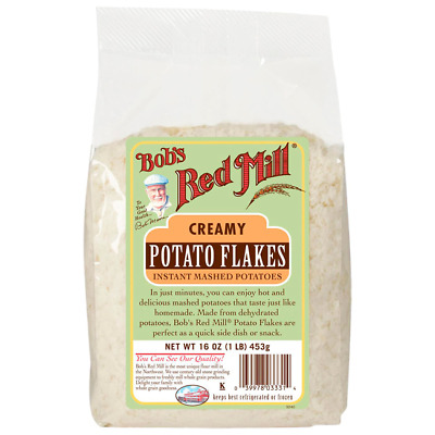 Bob's Red Mill Creamy Potato Flakes Instant Mashed Potato Flakes