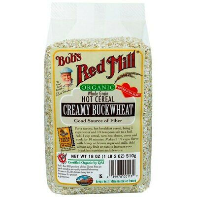 Bob's Red Mill Creamy Buckwheat Hot Cereal 18 oz (510 g) Pkg