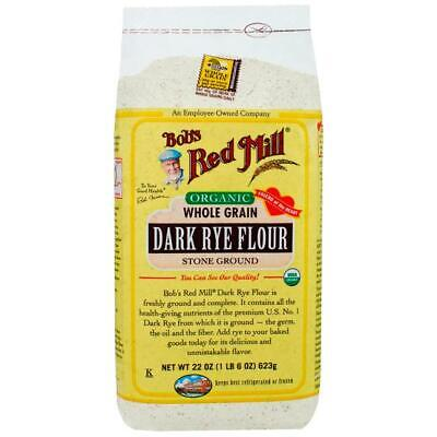 Bob's Red Mill Organic Dark Rye Flour 22 oz (623 g) Pkg