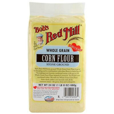 Bob's Red Mill Whole Grain Corn Flour 24 oz Pkg