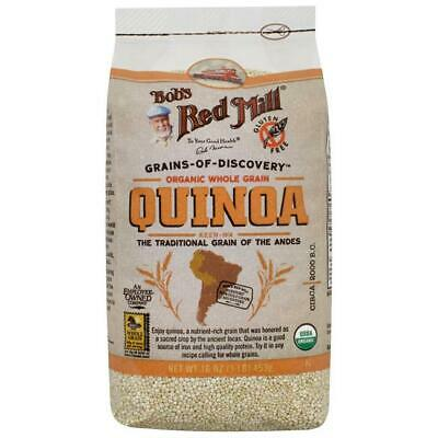 Bob's Red Mill Organic Whole Grain Quinoa 16 oz (453 g) Pkg