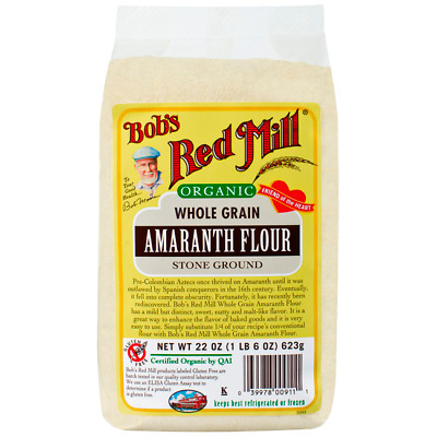 Bob's Red Mill Organic Amaranth Flour 22 oz (623 g) Pkg