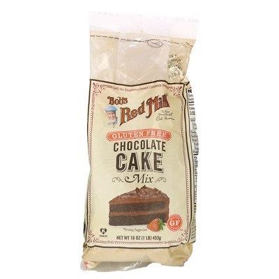 Bob's Red Mill Gluten Free Chocolate Cake Mix 16 oz (453 g) Pkg