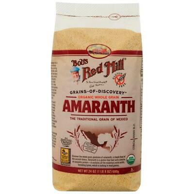 Bob's Red Mill Organic Whole Grain Amaranth 24 oz (680 g) Pkg