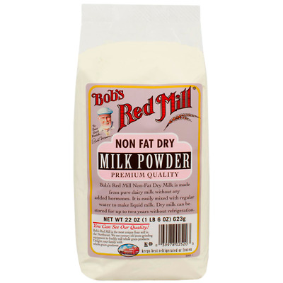 Bob's Red Mill Non Fat Dry Milk Powder 22 oz (623 g) Pkg