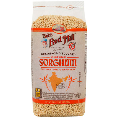 Bob's Red Mill Whole Grain Sorghum 24 oz (1 lb 8 oz) (680 g) Pkg