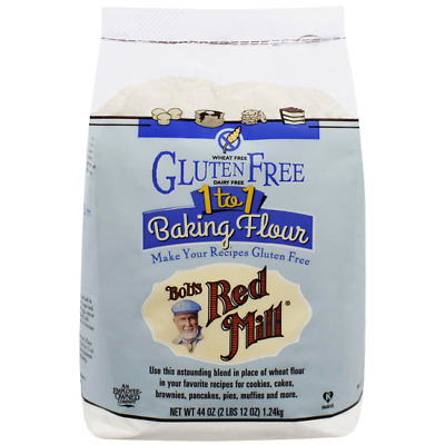Bob's Red Mill Gluten Free 1 to 1 Baking Flour 44 oz (1.24 kg) Pkg