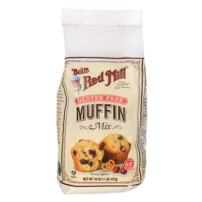 Bob's Red Mill Gluten Free Muffin Mix 16 oz (453 g) Pkg