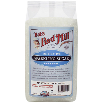 Bob's Red Mill Decorative Sparkling Sugar 28 oz (793 g) Granules