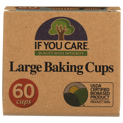 If You Care Unbleached Large Baking Cups 60 Ct