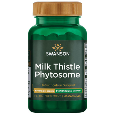 Swanson Siliphos Milk Thistle Phytosome 300 mg 60 Caps
