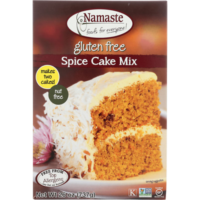Namaste Foods Spice & Carrot Cake Mix 26 oz (737 grams) Pkg
