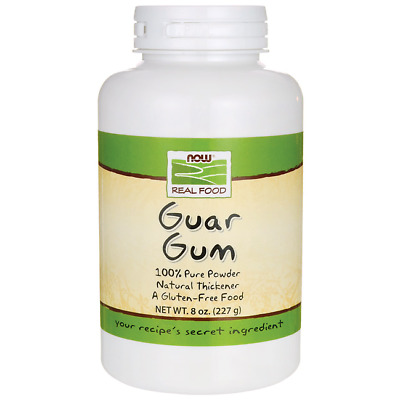 NOW Foods Guar Gum 8 oz (227 g) Pwdr