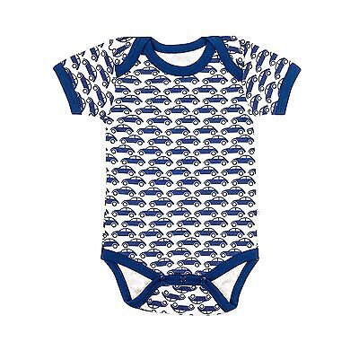 100% Organic Cotton Baby Short Sleeve Body by Organicera - Car design