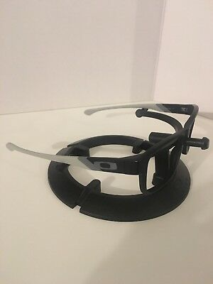 Oakley Satin Black Grey JUNKYARD Eyeglass Frames, Grey Icons, FREE S/H