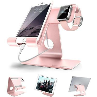 Universal 2 in 1 Tablet Stand Holder Dock,ZVE Aluminum phone Apple Iwatch...
