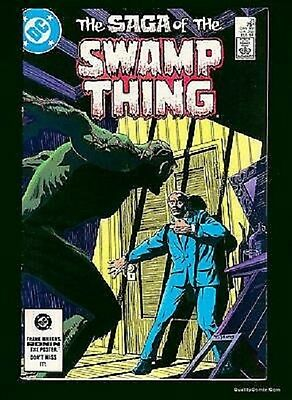 DC Comics Saga of the SWAMP THING Issue 21 - Alan Moore, Steve Bissette