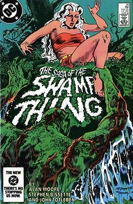 DC Comics Saga of the SWAMP THING Issue 25 - First Appearance John Constantine