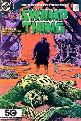 DC Comics SWAMP THING Issue 36 - Moore/Bissette/Totleben Sophisticated Suspense